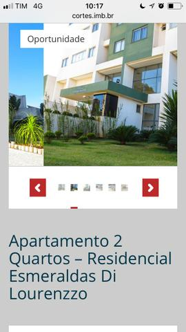 Vende-se um apartamento barato, no residencial esmeraldas di lourenzzo