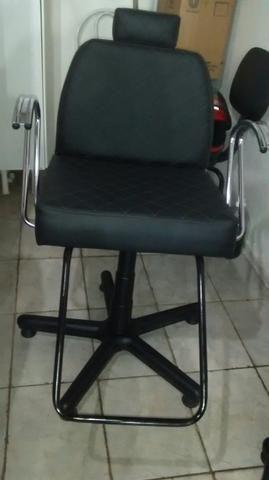 Cadeira pra salão unissex