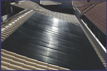 Placa de Aquecimento Solar p/ Piscinas - Marca KS *Classificação A Inmetro