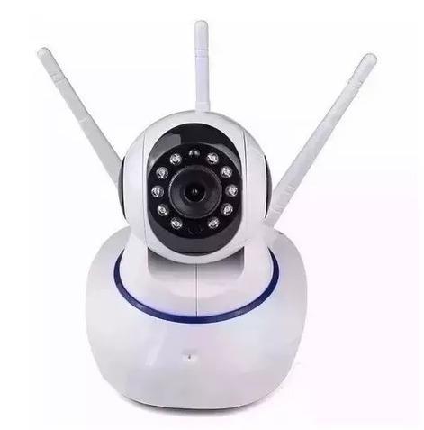 (NOVO) Câmera Robô 3 Antenas Ip Wifi 360º 720p