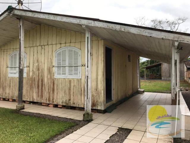 Casa de madeira a venda em no Cambiju em Itapoá-SC CA0446 - Foto 4