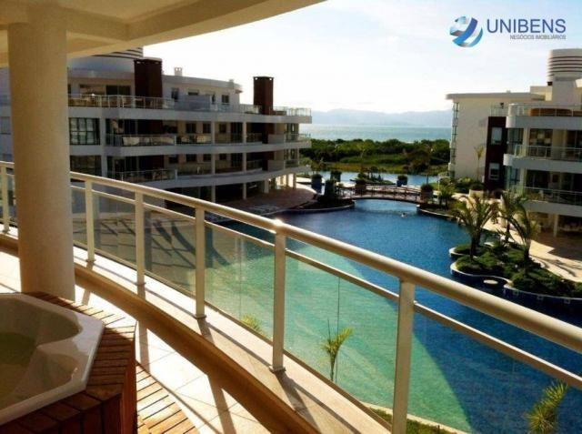 Apartamento mobiliado à venda no marine home resort - cachoeira do bom jesus, florianópoli - Foto 3