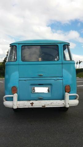 Kombi Corujinha 1964 azul, motor, suspenção, freios e elétrica nova - Foto 4