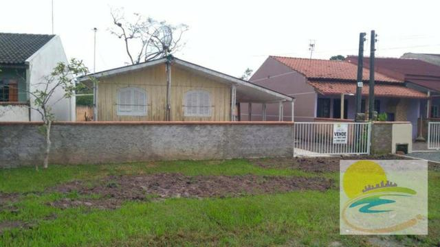 Casa de madeira a venda em no Cambiju em Itapoá-SC CA0446 - Foto 2