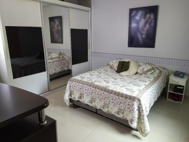 Linda casa, cond fechado, Vicente Pires, Rua 8, churrasq, piscina aquecida, 4qts, 4ban - Foto 9