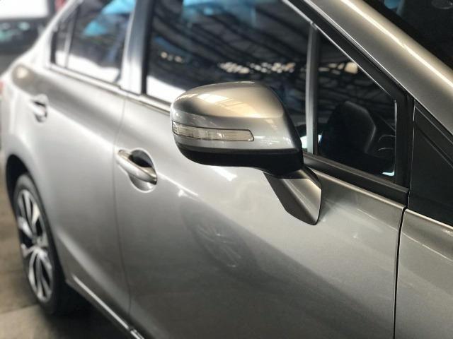 Honda Civic 2015 Sedan LXR 2.0 Flexone 16V Aut - Leia o Anuncio!!! - Foto 3