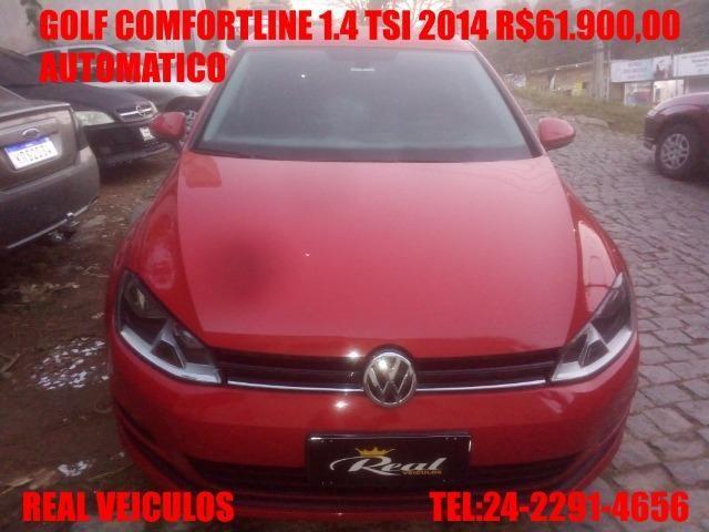 Golf Comfortline 1.4 tsi,automático,2014, Muito novo , aceito troca e financio