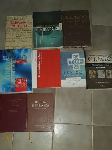 Coleção acadêmica de grego e Hebraico