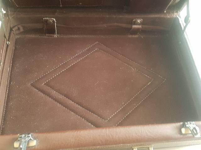 Maleta couro notebook com segredo  - Foto 3