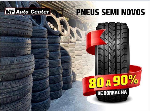 ?Pneus semi novos 205/55-16 Bridgestone - Foto 11