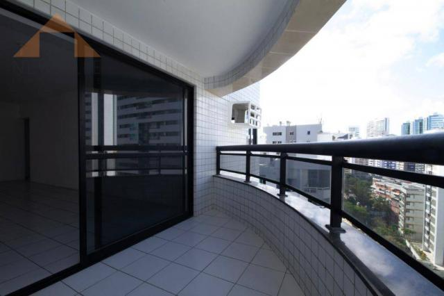Apartamento com 3 quartos para alugar, 98 m² por R$ 3.330/mês - Boa Viagem - Recife/PE