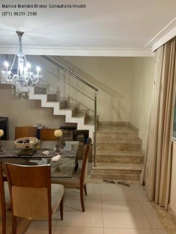Excelente casa com 5/4, pronta para morar, em condomínio fechado, lazer e portaria 24 hs. - Foto 12
