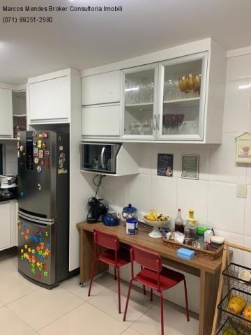 Excelente casa com 5/4, pronta para morar, em condomínio fechado, lazer e portaria 24 hs. - Foto 16