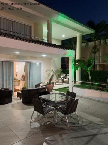 Excelente casa com 5/4, pronta para morar, em condomínio fechado, lazer e portaria 24 hs. - Foto 3