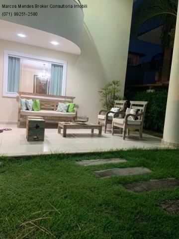 Excelente casa com 5/4, pronta para morar, em condomínio fechado, lazer e portaria 24 hs. - Foto 5