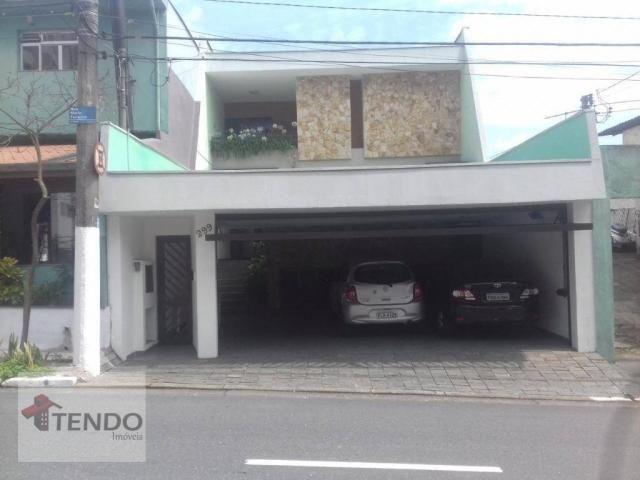 Sobrado - venda - 4 dormitórios, - 3 suítes - aluguel por R$ 4.600/mês - Vila Marlene - Sã