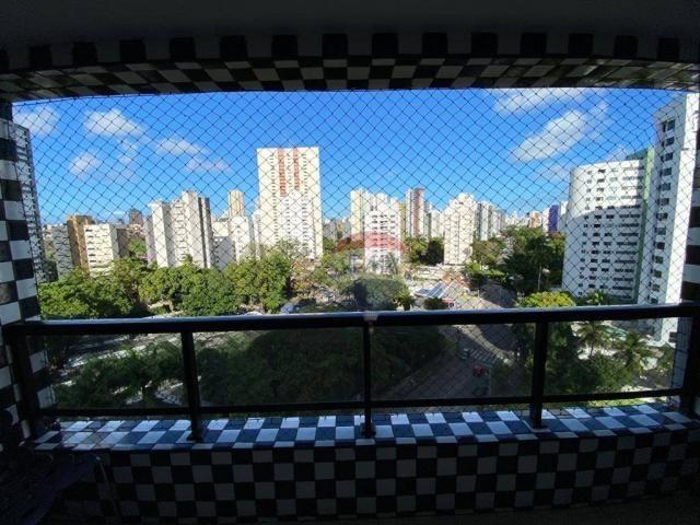 Excelente Apartamento com 4 Quartos e 3 Vagas em Casa Forte para Venda ou Locação - Foto 8