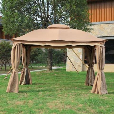 Tenda tipo gazebo com cortinas 3x4 - Foto 4
