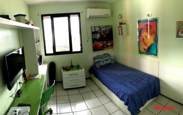 Edifício Cidrão Place, apartamento na Aldeota, 3 suítes, gabinete, 2 vagas, projetado - Foto 4