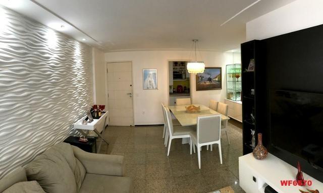 Edifício Cidrão Place, apartamento na Aldeota, 3 suítes, gabinete, 2 vagas, projetado - Foto 3