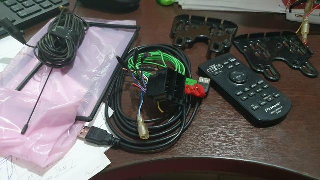 Kit multimídia dvd Pioneer AVH X5780TV - Foto 3