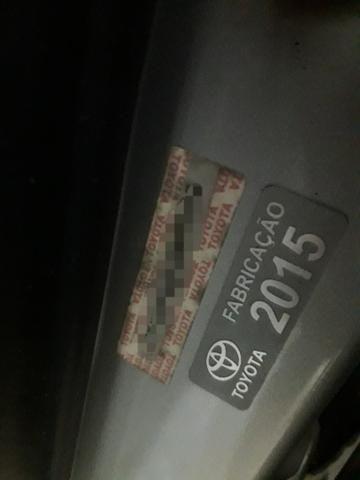 Toyota Etios Sedan 1.5 2015 - Aceita troca menor valor - - Foto 11