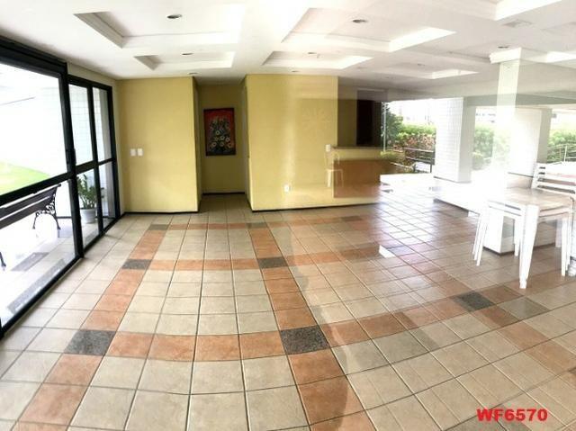 Edifício Cidrão Place, apartamento na Aldeota, 3 suítes, gabinete, 2 vagas, projetado - Foto 12