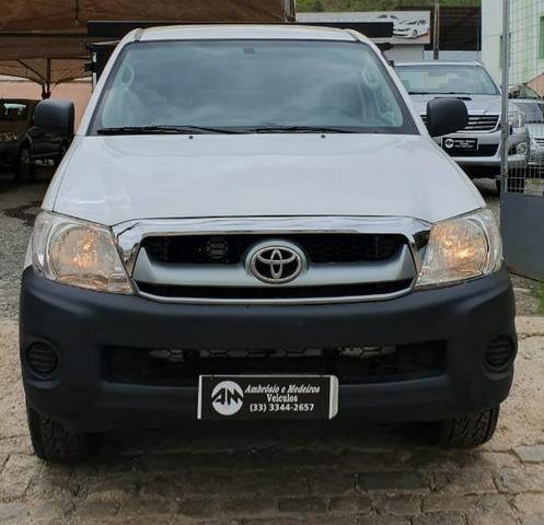 Toyota hilux 2.5 4x4 cs 16v turbo diesel 2p manual branca 2011 ? 2011/2011
