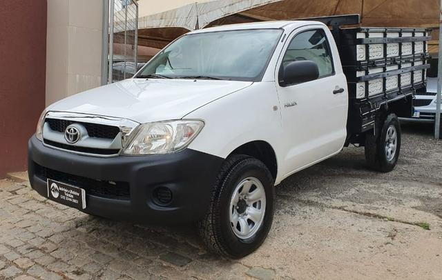 Toyota hilux 2.5 4x4 cs 16v turbo diesel 2p manual branca 2011 ? 2011/2011 - Foto 2