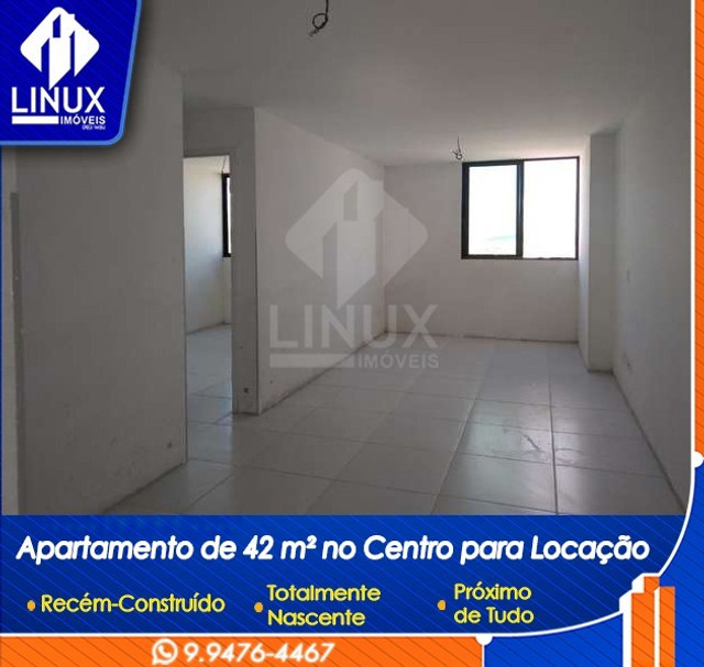 Apartamento de 1 Quarto no Centro de Caruaru p/ Locação