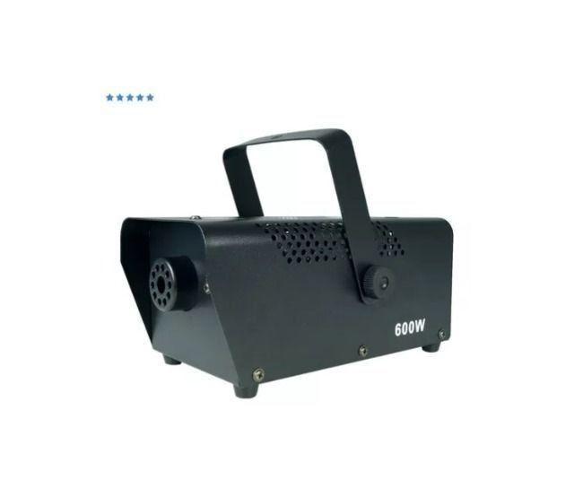 Maquina De Fumaça 600w C/ Controle Wireless + Liquido - Foto 2