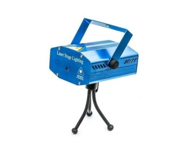 Mini Projetor Holográfico E Laser Stage Lighting