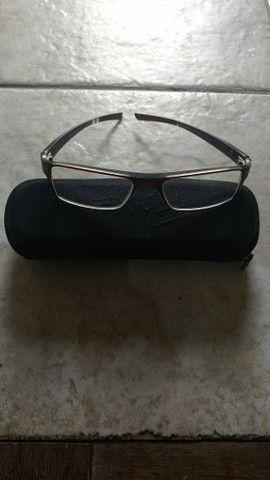 Armação - óculos marca Benetton- projeto solidário - troco por 10 leite em pó para criança