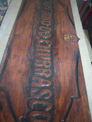 Entalhes em madeira comaru maciça 1,10 x 25 cm - Foto 4