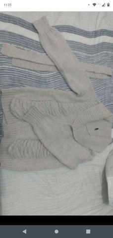 Cardigan de lã