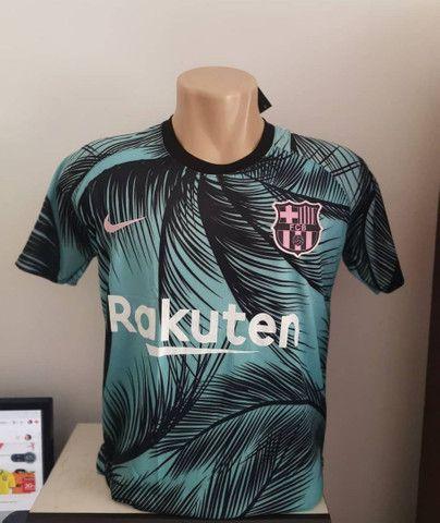 Camisa do Barcelona pré jogo 2020/2021