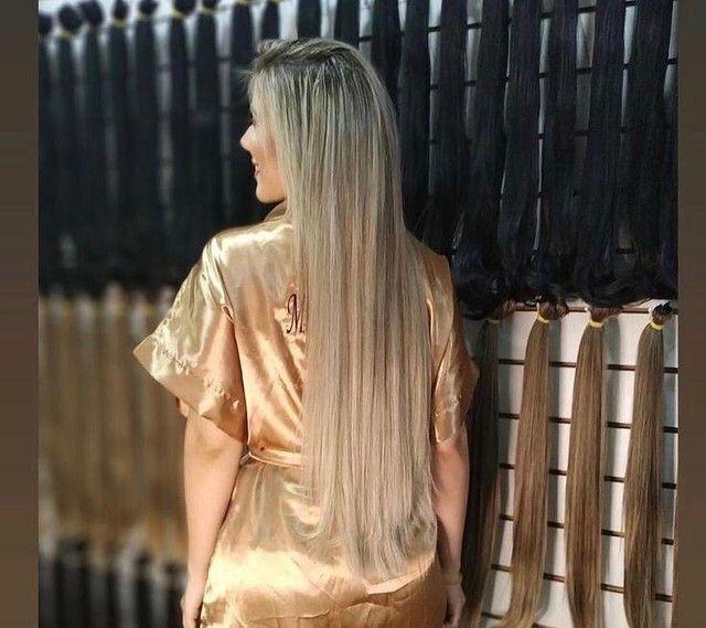 Telas em cabelo Bio humano !