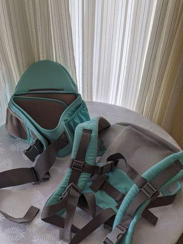 Bolsa canguru ergonômico Aiebao nunca usado - Foto 2