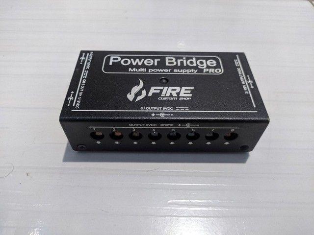 Fonte Fire Power Bridge Pro 9V/18V - Foto 4