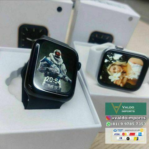 Relógio SmartWatch IWO W46 - NOVO (Compatível com Android e IOS) - Foto 5