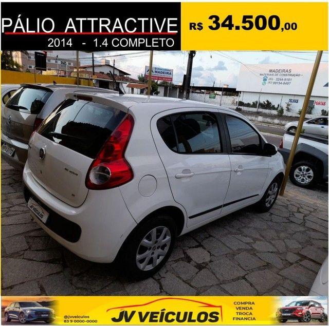 Palio attractive 1.4 completo (2014 economy) - Foto 4