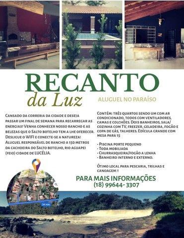 Aluguel de Rancho Salto botelho/ Lucélia - Foto 3