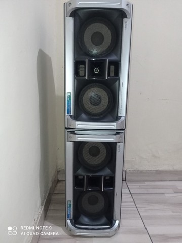 Caixas de som Sony mhc-Gnx90  - Foto 2