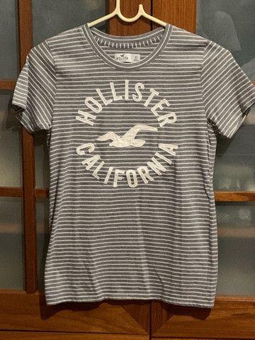 Camiseta cinza da holister original