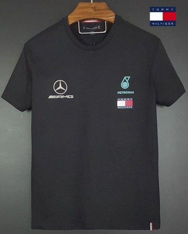 T-shirt Tommy Lewis Hamilton. - Foto 2