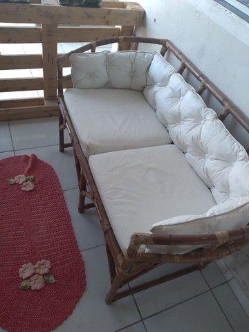 vendo sofá de bambu