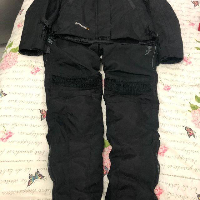 BARBADA- Conjunto Motociclista (Jaqueta e calça) Riffel Feminino Dynamic 2.0  - Foto 8