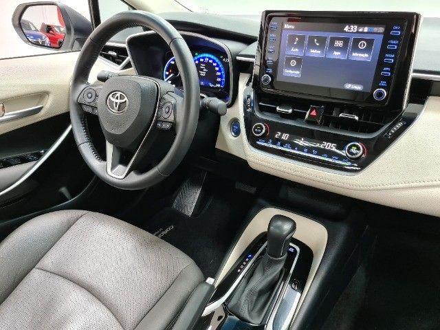 corolla altis premium hybrid 1.8 flex 2021 aceito troca - Foto 9