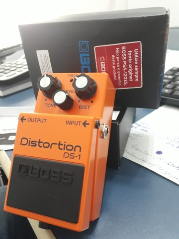 Pedal Distortion DS1 Boss - Foto 2
