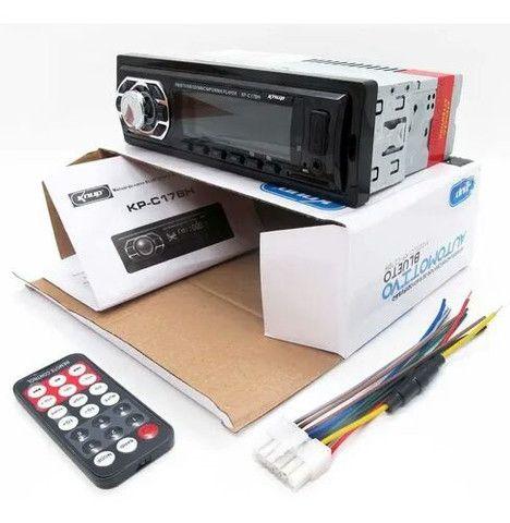 Radio Automotivo Bluetooth Usb / Cartao Sd / Fm / Mp3 (deh-8601)